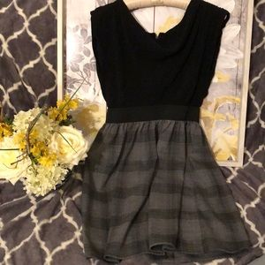 Cute Black and grey dress